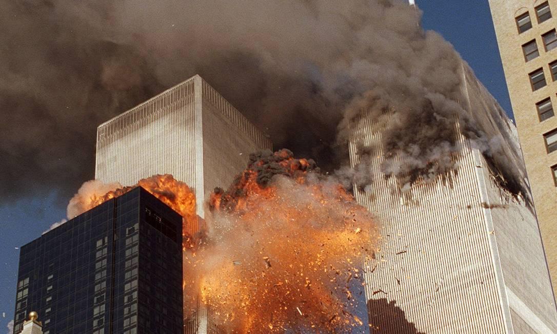 Atentado ao WTC, em setembro de 2001, deixou quase 3 mil mortos Foto: Chao Soi Cheong / AP