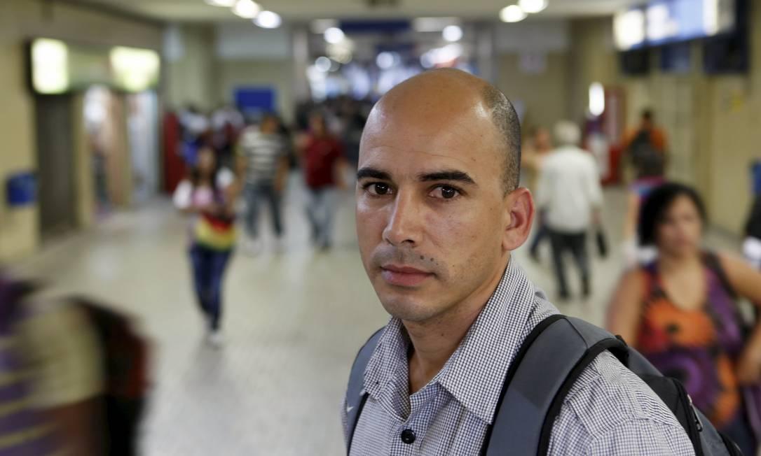 Daivison Costa foi um dos que se viu envolvido em dívidas que não conseguia pagar Foto: Gustavo Stephan / Agência O Globo