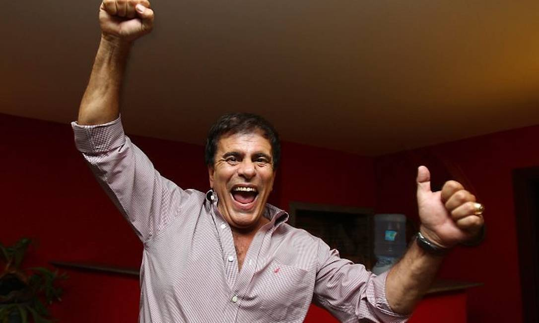 Wagner Montes, candidato a deputado mais votado no estado do Rio - Ivo Gonzalez O Globo