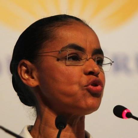 Marina Silva (PV) participa de congresso da ANJ, no Rio - Gabriel de Paiva