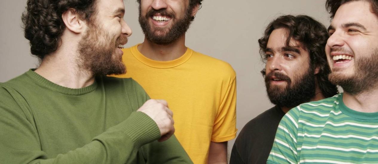 A banda Los Hermanos encerra turnê de reencontro no Rio Foto: Mauricio Valladares / Divulgação / Agência O Globo