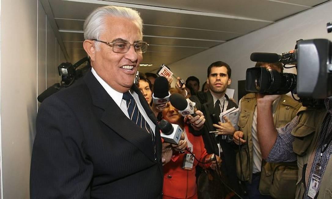 O ex-governador do DF Joaquim Roriz Foto: Foto de arquivo