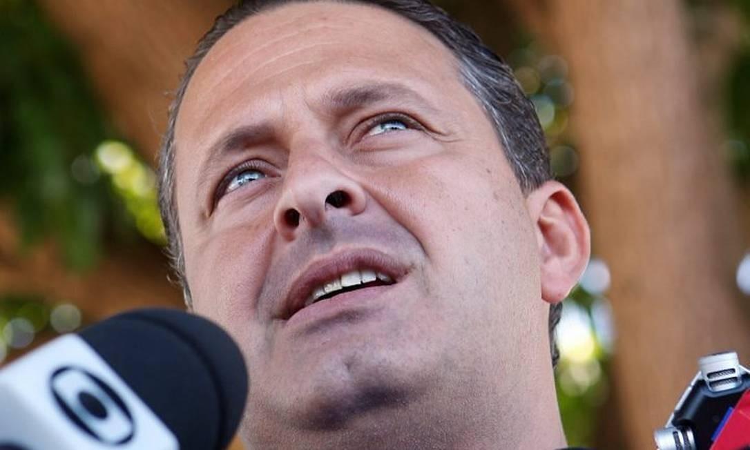 O governador Eduardo Campos - Gustavo Miranda