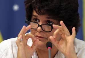 A Ministra do Meio Ambiente Izabella Teixeira Foto: Gustavo Miranda / O Globo