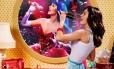 """Parte do cartaz do filme """"Katy Perry: Part of me"""", em 3D"""
