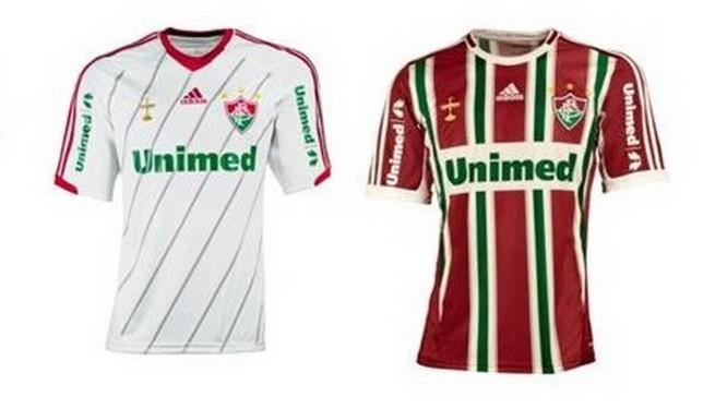 Fluminense apresenta novo uniforme para a temporada - Jornal O Globo 0b23aa45be4c9