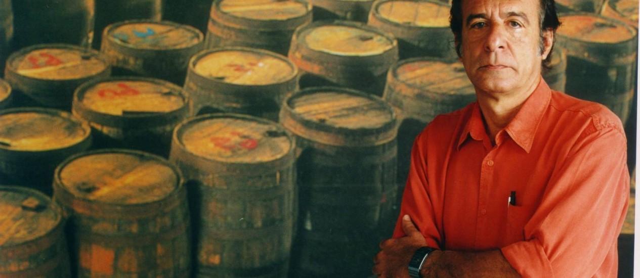 O presidente do grupo Ypióca, Everardo Telles, em foto de agosto de 2001 Foto: Antônio Duarte / Agência O Globo/31-08-2001