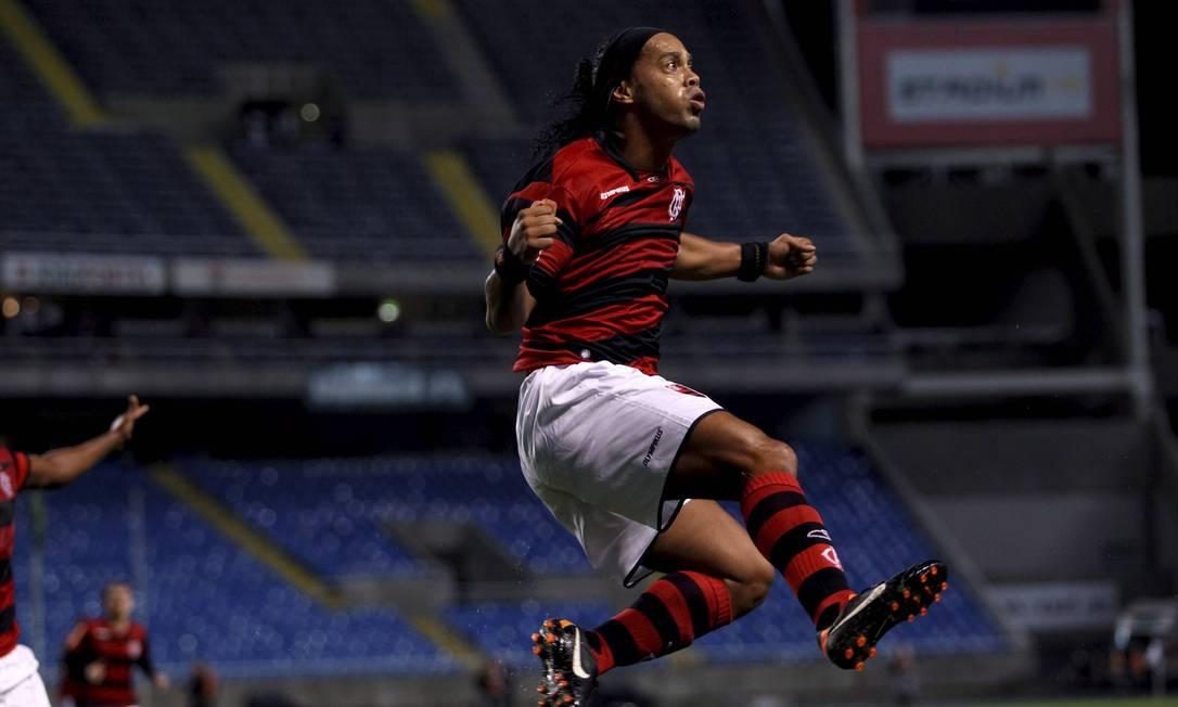 Comemoração de gol contra o Atlético-PR pela Copa Sul-Americana Foto: Alexandre Cassiano