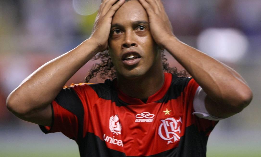 O empate com o Olimpia pela Libertadores deixou todos incrédulos Foto: Guilherme Pinto / Guilherme Pinto