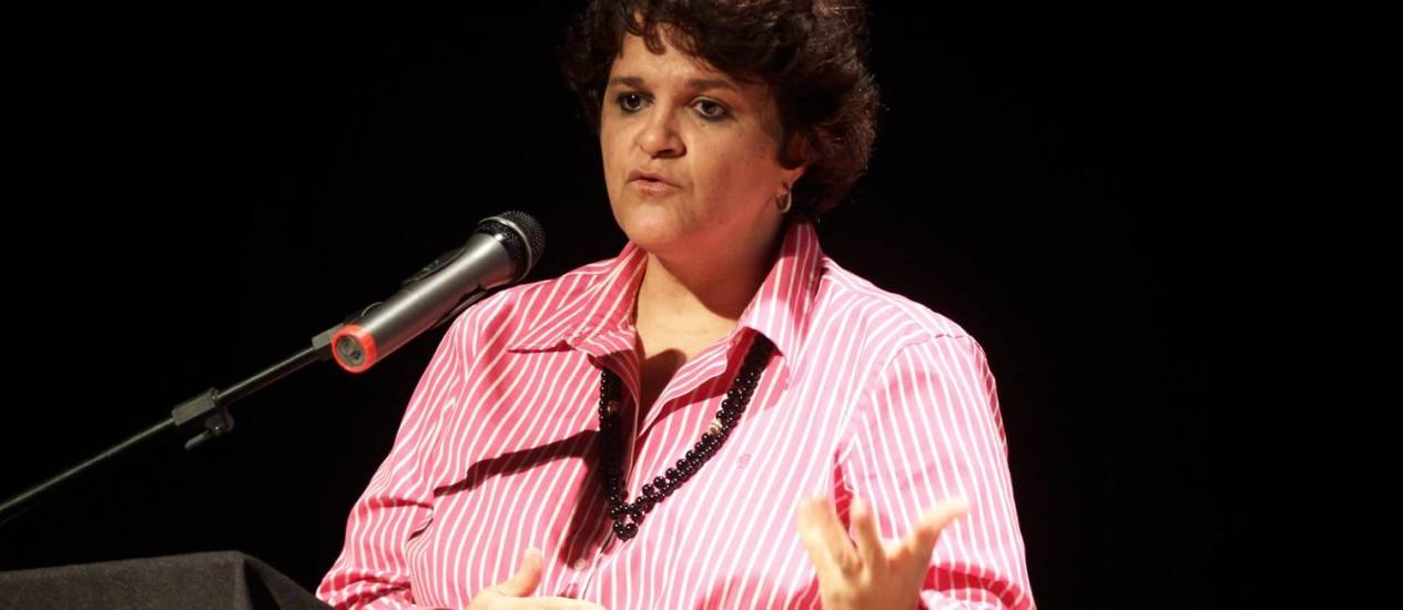 A ministra do Meio Ambiente, Izabella Teixeira, participa, no Rio, da Plataforma 20, debate sobre Mulheres e Sustentabilidade Foto: Paulo Nicolella / Agência O Globo