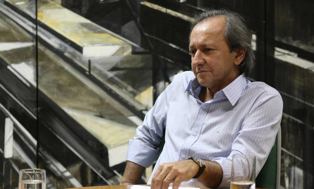 Prefeito de Niterói, Jorge Roberto Silveira Foto: O Globo / Guilherme Leporace