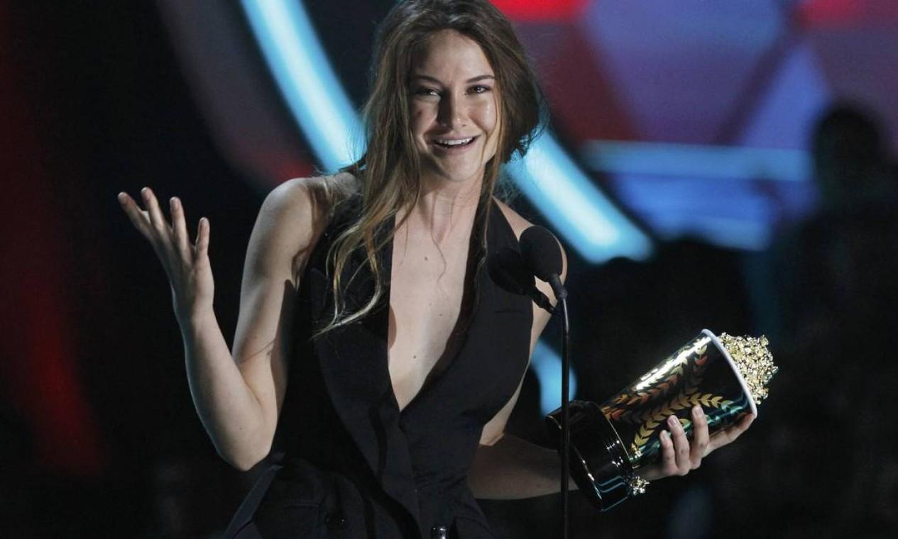 """A atriz Shailene Woodley foi eleita a revelação do ano por seu trabalho em """"Os descendentes"""" Foto: Reuters"""