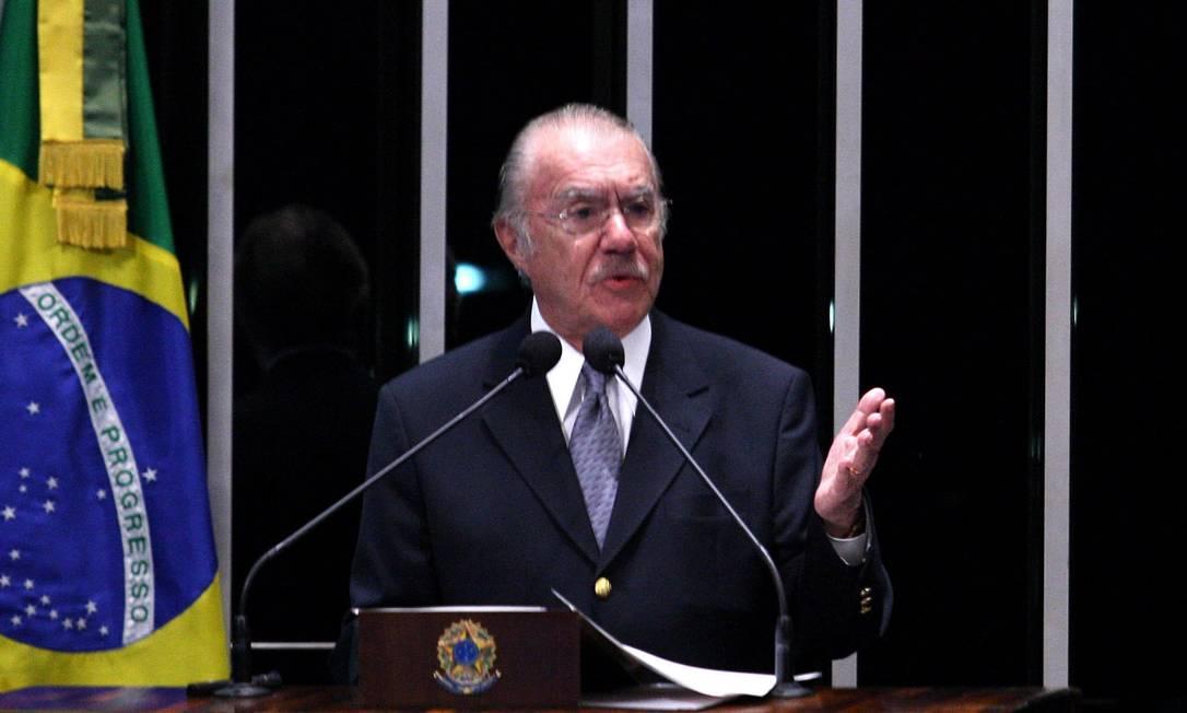 Presidente do Senado marca para o dia 13 votação da PEC do Voto Aberto Foto: O Globo/ 7/03/2012 / Ailton de Freitas
