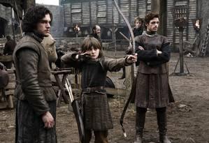 Cena do seriado 'Game of Thrones', exibido no Brasil pela HBO Foto: Divulgação