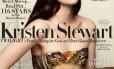 Kristen Stewart na capa da revista 'Vanity Fair', vestida por Balenciaga