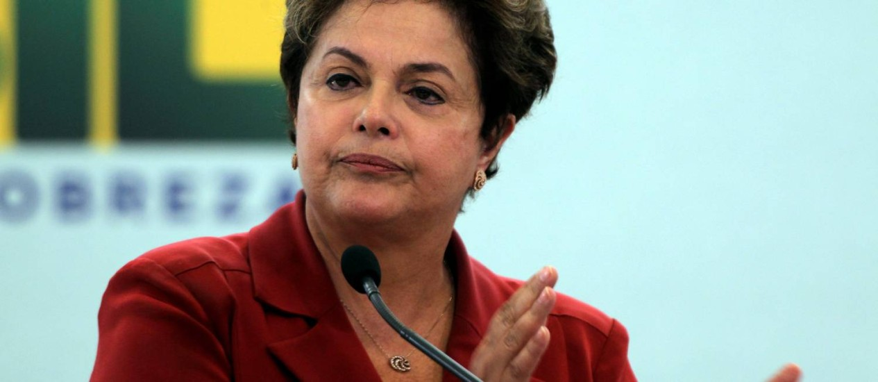 A presidente Dilma Rousseff vetou quatro trechos do texto da Lei Geral da Copa enviado pelo Senado Foto: Gustavo Miranda/Agência O Globo