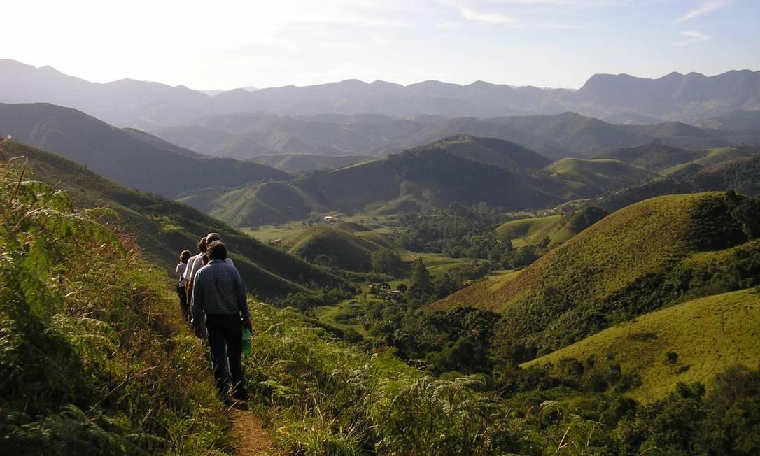 O futuro Parque Estadual da Pedra Selada: a sua área tem 8.036 hectares Foto: Luis Felipe Cesar / Divulgação