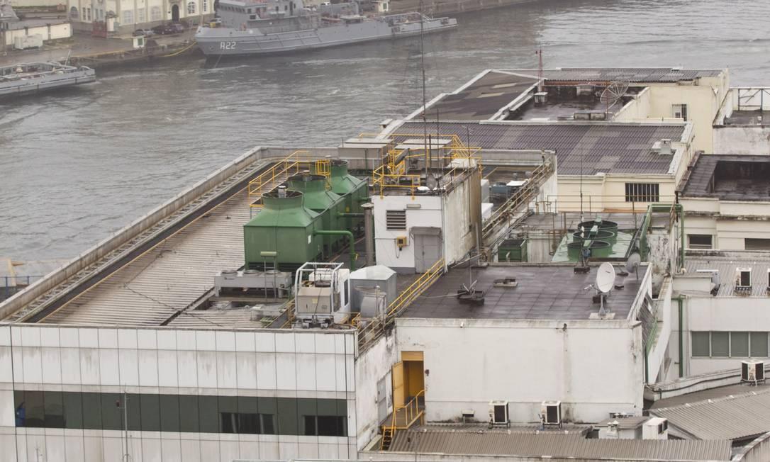 PRÉDIO AMBIENTALMENTE correto no Centro, com telhado verde Foto: Márcia Foletto