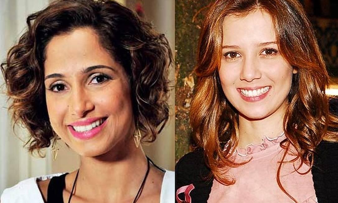 Camila Pitanga e Marjorie Estiano serão Isabel e Laura, as protagonistas da trama Foto: Reprodução