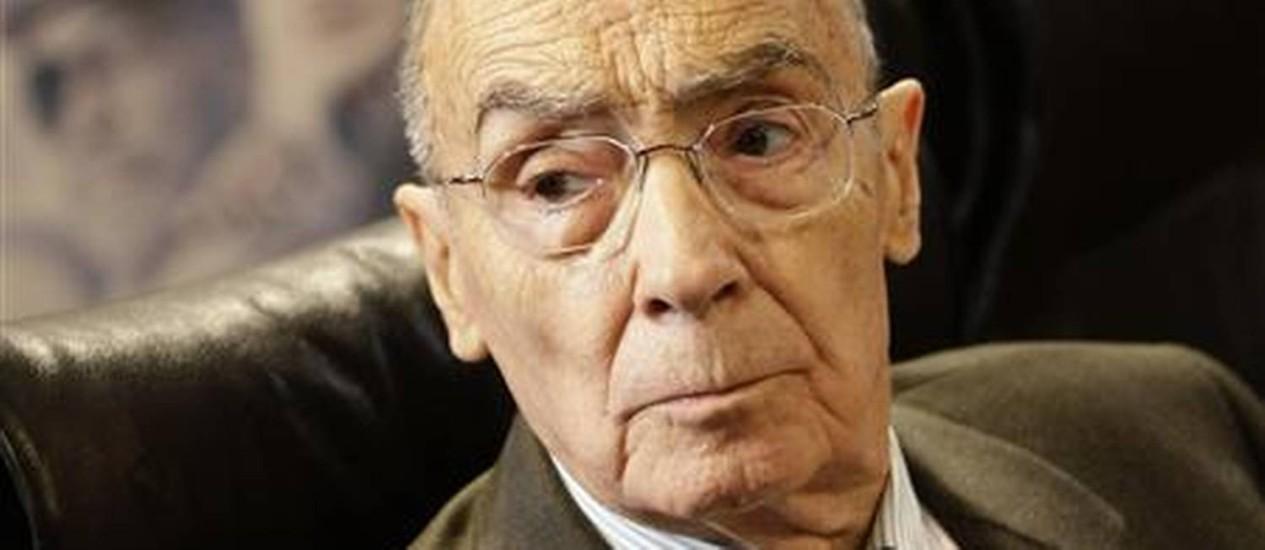 O escritor José Saramago ganha uma fundação dedicada a sua obra em Lisboa Foto: Reuters