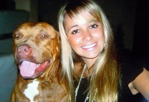 Avó da engenheira Patrícia Amieiro, desaparecida há quatro anos, morre sem saber se neta ainda está viva Foto: O Globo / Reprodução Álbum de Família