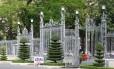 O portão do Palácio da Reunificação na Cidade de Ho Chi Minh: sua derrubada marcou o fim da guerra, há quase 40 anos