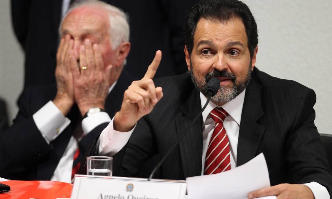 Governador do Distrito Federal fala à CPI do Cachoeira Foto: Agência O Globo / Ailton de Freitas