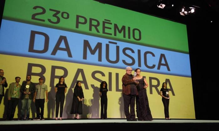 Dori Caymmi levou os prêmios de melhor cantor e álbum na categoria MPB Leonardo Aversa / O Globo