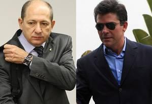 Luiz Antônio Pagot e Fernando Cavendish Foto: O Globo