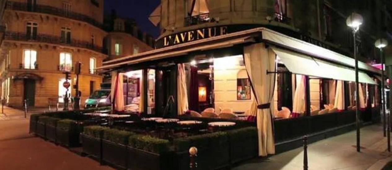 Reprodução de foto do restaurante onde teria acontecido encontro de parlamentares com Cavendish Foto: Reprodução / Reprodução