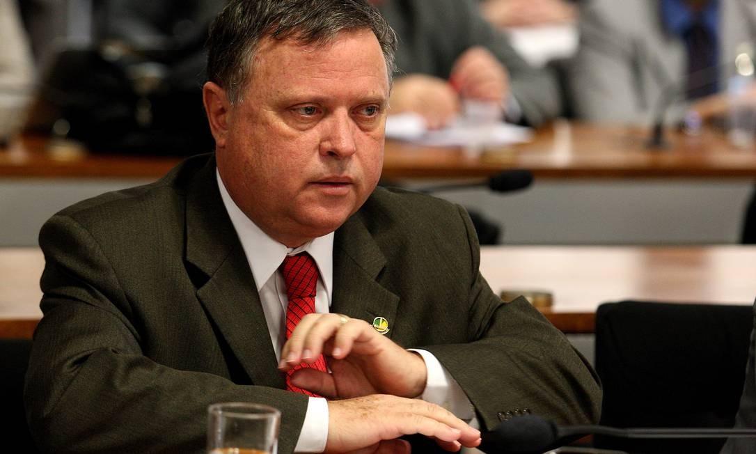 Blairo Maggi: senador é um dos que não se interessa pela comissão Foto: O Globo / Ailton de Freitas