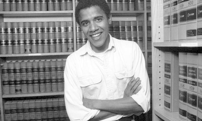 Em 1990, quando foi eleito presidente da Law Review, em Havard New York Times