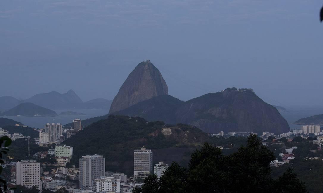 Sugar Loaf, at Botafogo Harbour Foto: Agência O Globo / Rafael Andrade