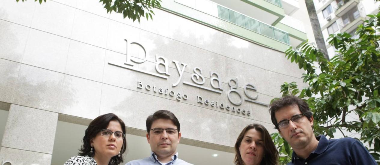Em Botafogo, casais pagaram R$ 600 mil por imóveis, avaliados pela prefeitura em R$ 1,6 milhão Foto: Laura Marques / O Globo