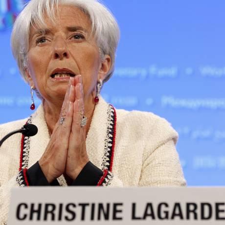 A diretora-gerente do FMI, Christine Lagarde, cancelou sua vinda a Rio+20 Foto: Charles Dharapak / AP