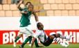 Vasco e Palmeiras empataram em 1 a 1 pela quinta rodada do Brasileiro