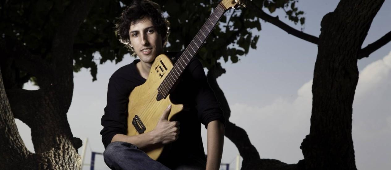 O carioca Caio Marcio promove diálogo entre jazz e erudito Foto: Daniela Dacorso