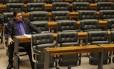 Deputado Stepan Necessian no plenário da Câmara dos Deputados