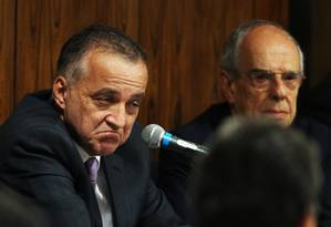 Defesa de Cachoeira pediu anulação das gravações da PF como prova no processo contra ele Foto: O Globo - 22/05/2012 / Ailton de Freitas