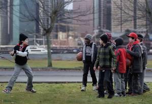 """Crianças brigam em cena do filme """"Deus da carnificina"""" Foto: Divulgação"""