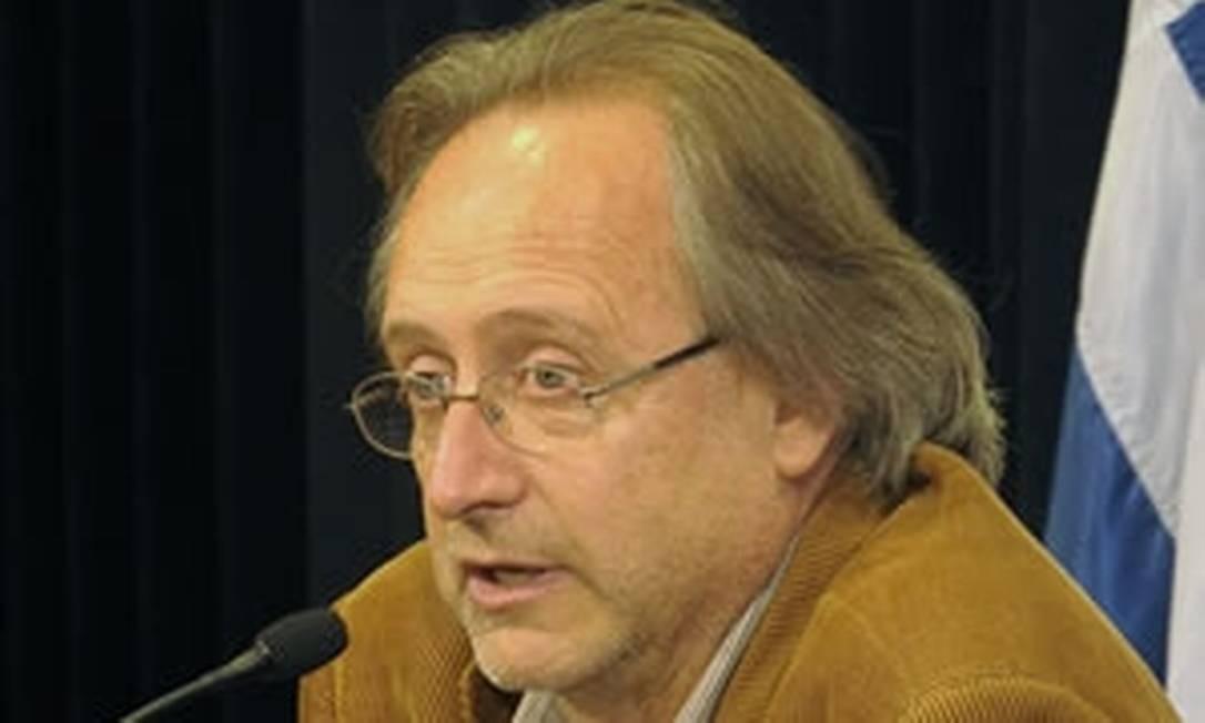 Julio Calzada, secretário-geral da Secretaria Nacional de Drogas do Uruguai Foto: Divulgação