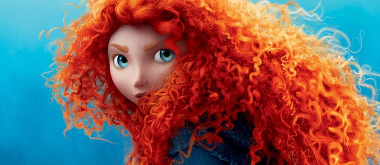 A princesa Merida, do filme 'Valente' Foto: Divulgação