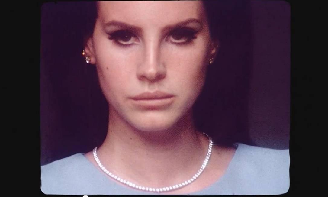 Lana del Rey no clipe da música 'National anthem' Foto: Reprodução