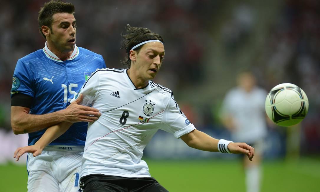 A Alemanha de Ozil entrou como favorita AFP