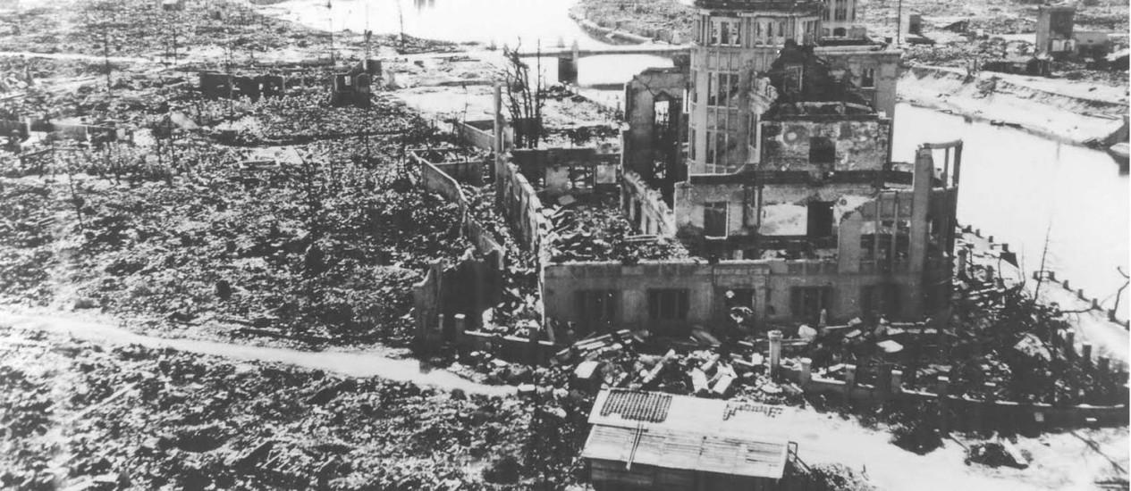 Hiroshima após a bomba: documentário no festival relata a vida de sobreviventes do bombardeio que vieram morar no Brasil Foto: Divulgação