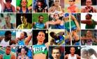 Altetas olímpicos do Brasil em Londres Foto: O Globo