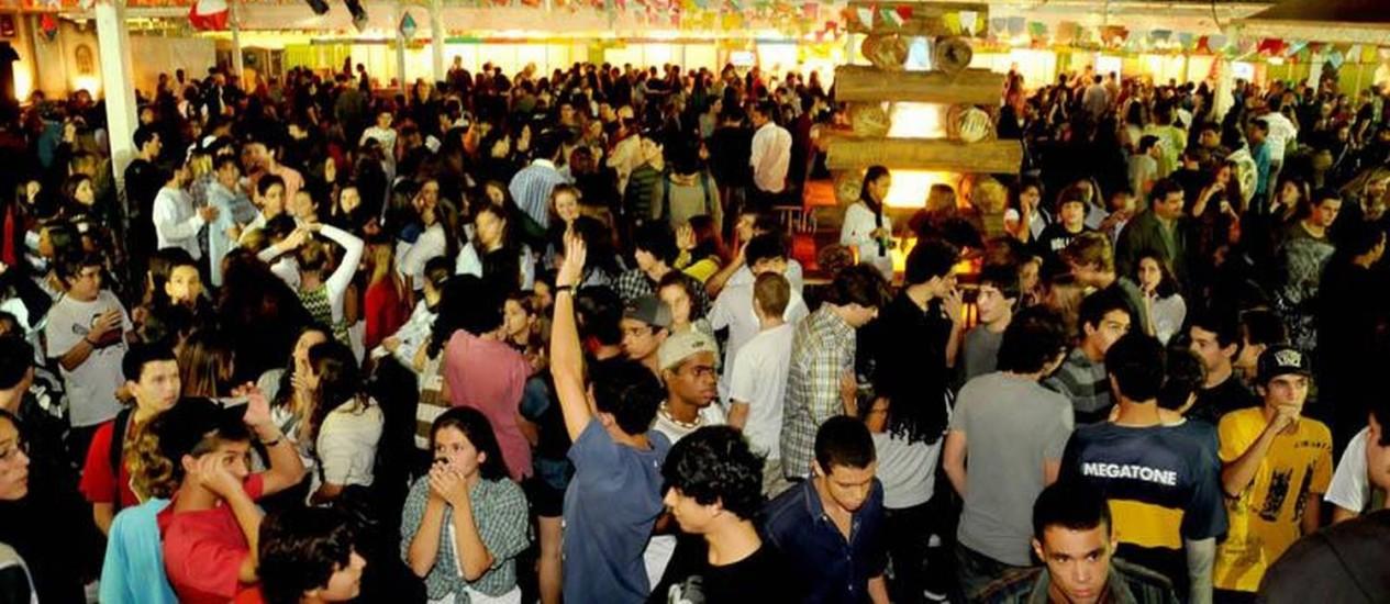 O Arraial da Providência deve levar 25 mil pessoas ao Jockey entre sexta e domingo Foto: Divulgação
