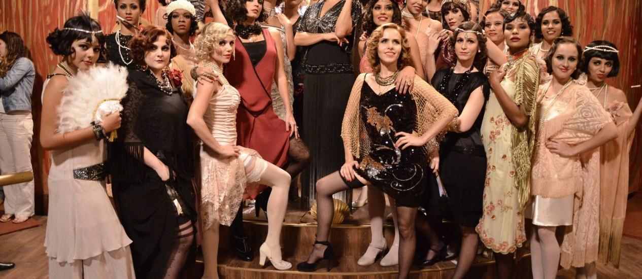 As raparigas do Bataclan, um dos principais cenários do romance de Jorge Amado Foto: TV Globo