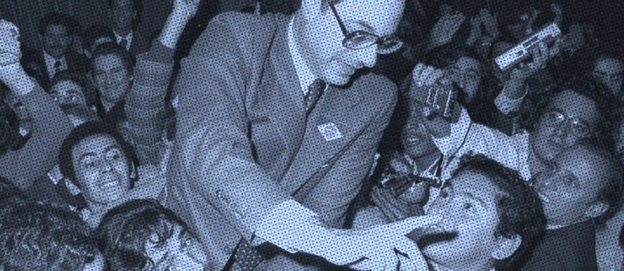 O deputado federal Paulo Maluf (PP-SP) Foto: O Globo / Arte sobre foto