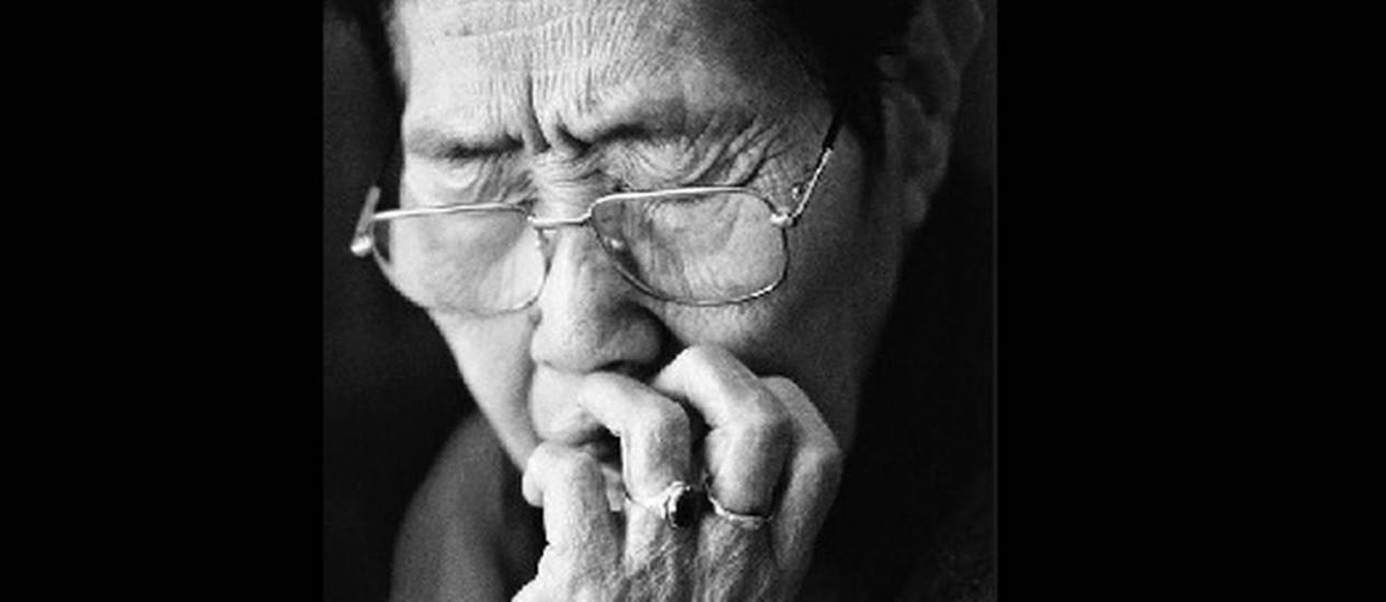 Imagem de uma das coreanas fotografadas pelo artista Foto: Ahn Sehomg